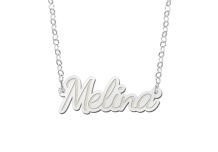 Naam ketting Melina Names4ever detail