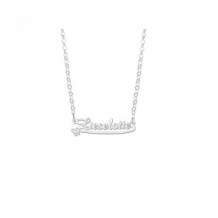 Kinder naamketting zilver model Lieselotte